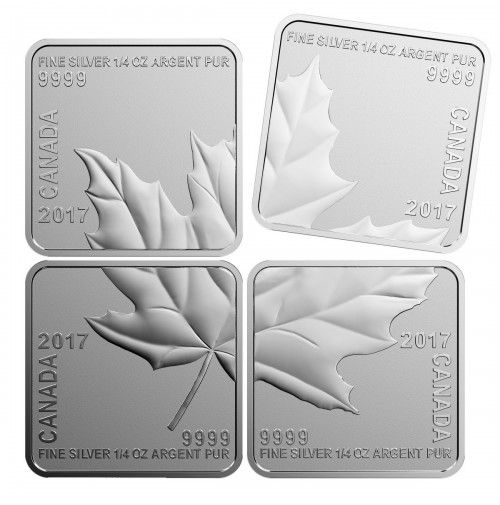 4 Dollar Stříbrná mince Maple Leaf Puzzle 2017 PP