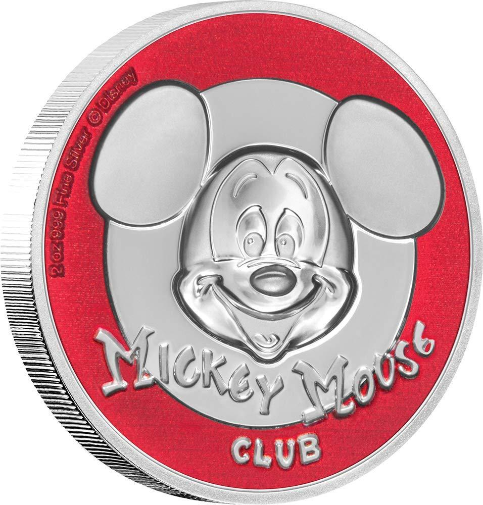 5 Dollar Stříbrná mince Mickey Mouse Club PP