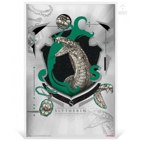 1 Dollar Stříbrná mince -Harry Potter - Slytherin UN