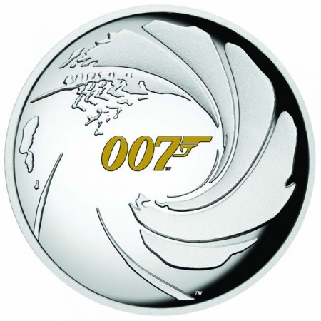 Stříbrná mince James Bond 2020 1 Oz