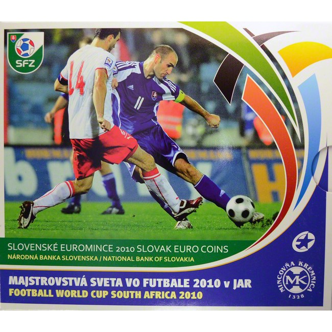 3.88 EUR CuNi Kursset Slovensko: 2010 - FIFA World Cup South Africa OSN